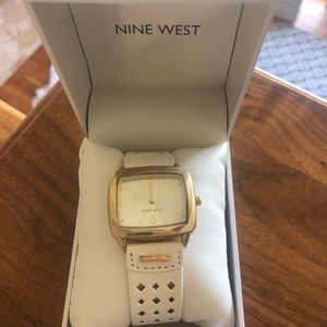Brand new! Nine West white watch